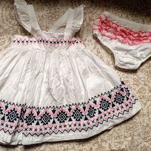 Lulurain Girls dress 12 month baby bloomers